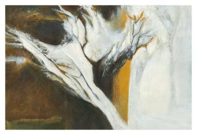 Ferveur jaune-Kathleen Cloutier-Art Print