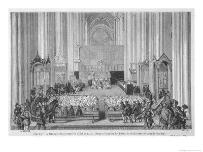 The Council of Trent Initiates the Counter-Reformation