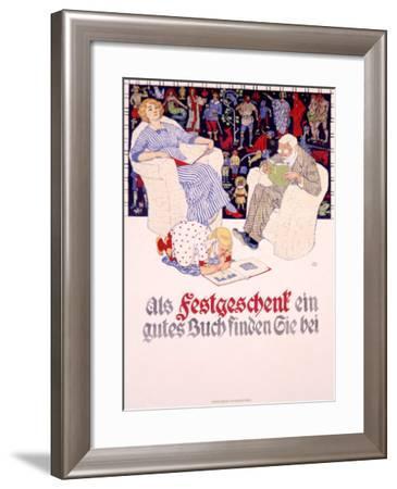 Festgeschenk-Burkhard Mangold-Framed Giclee Print