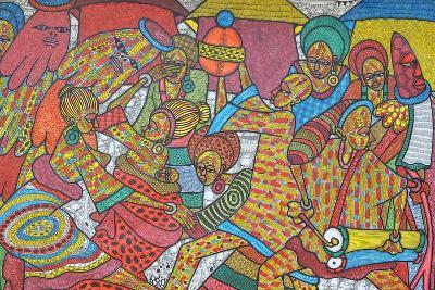 Festival, 2014-Muktair Oladoja-Giclee Print