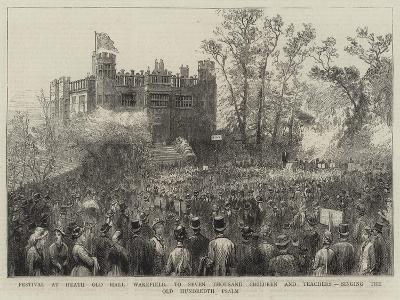 Festival at Heath Old Hall--Giclee Print