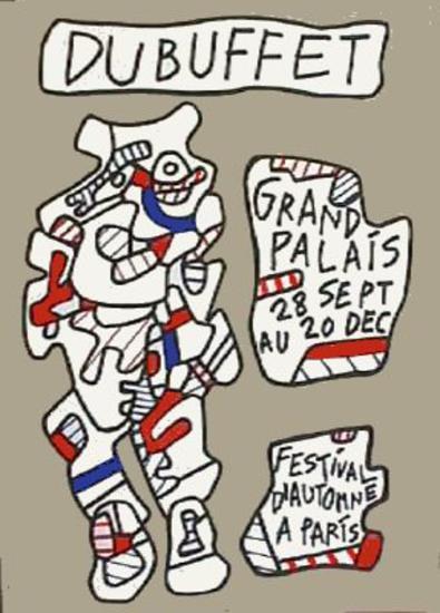 Festival D'Automne-Jean Dubuffet-Premium Edition