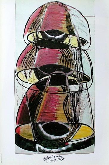 Festival D'Automne-Mario Merz-Collectable Print