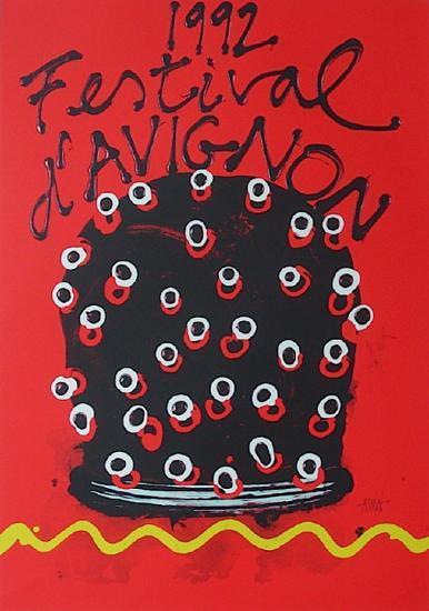 Festival D'Avignon 1992-Ezio Frigerio-Collectable Print