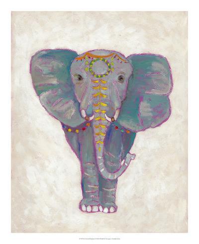 Festival Elephant I-Chariklia Zarris-Art Print