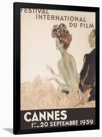 Festival International du Film, Cannes, 1939-Jean-Gabriel Domergue-Framed Giclee Print
