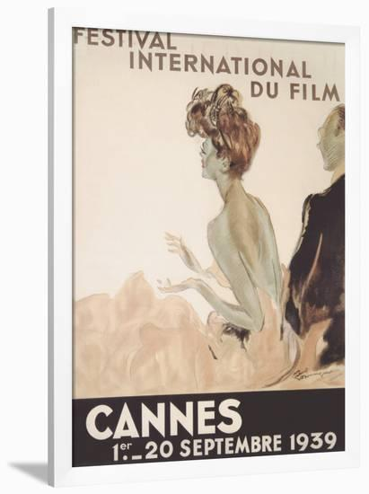 Festival International du Film, Cannes, 1939-Jean-Gabriel Domergue-Framed Giclee Print