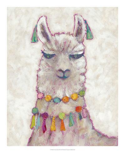 Festival Llama II-Chariklia Zarris-Art Print