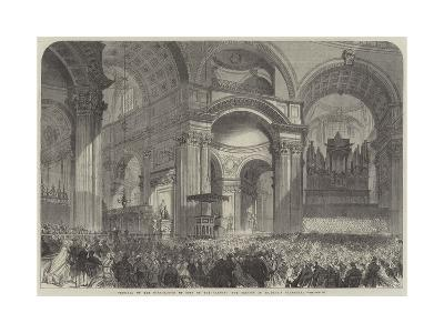 Festival of the Corporation of Sons of the Clergy, the Service in St Paul's Cathedral--Giclee Print