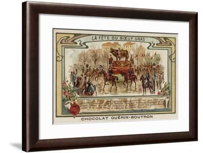Festival of the Fatted Bull, Paris--Framed Giclee Print