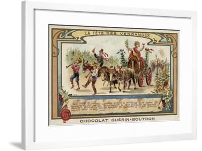 Festival of the Grape Harvest--Framed Giclee Print