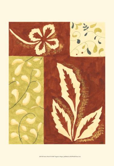Festive Floral I-Virginia A^ Roper-Art Print