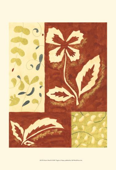Festive Floral II-Virginia A^ Roper-Art Print