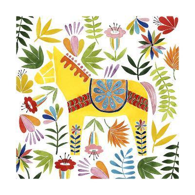 Festive Otomi III-Grace Popp-Art Print