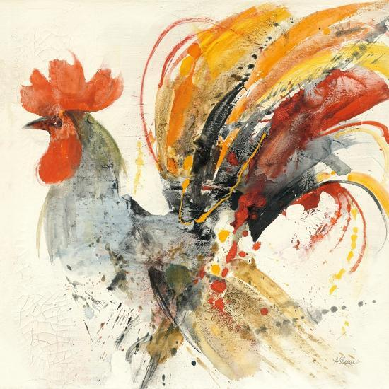Festive Rooster II-Albena Hristova-Art Print