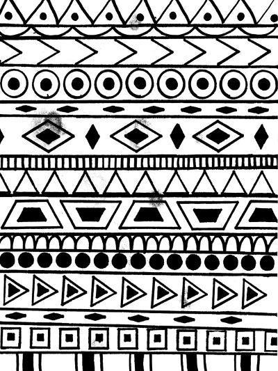 Festive Tribal-Laura Miller-Giclee Print
