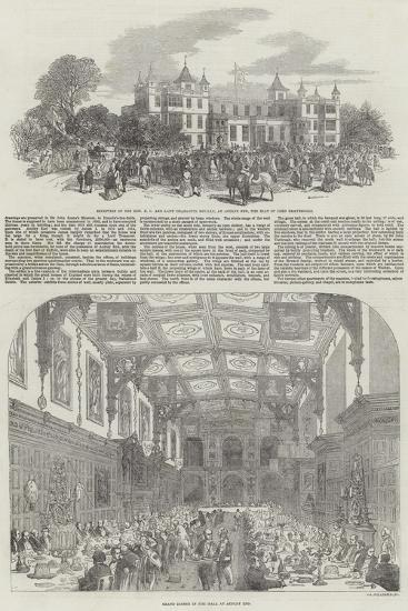Festivities at Audley End-Samuel Read-Giclee Print