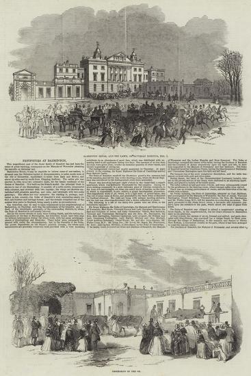 Festivities at Badminton--Giclee Print