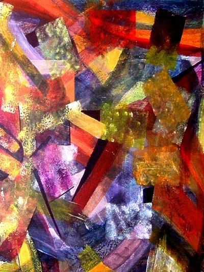 Festivities Revisited 1-Ruth Palmer-Art Print
