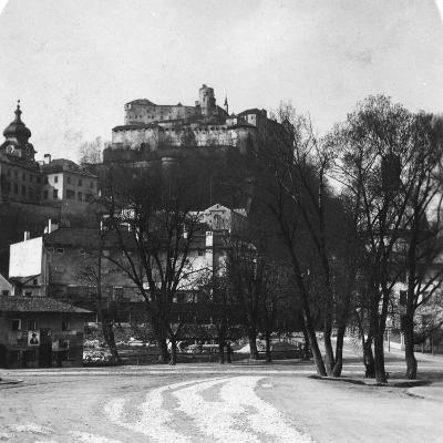 Festung Hohensalzburg, Salzburg, Austria, C1900s-Wurthle & Sons-Photographic Print