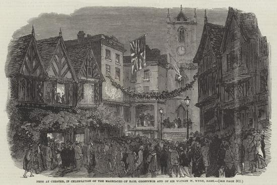 Fete at Chester--Giclee Print