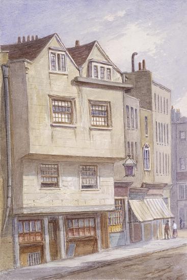 Fetter Lane, London, 1870-JT Wilson-Giclee Print