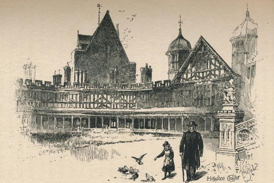 'Fetter-Lock, or Horse-Shoe, Cloister ', 1895-Unknown-Giclee Print