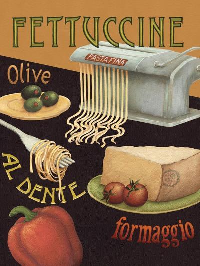 Fettuccine-Daphne Brissonnet-Art Print