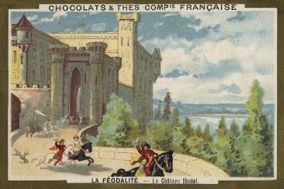 Feudal Castle--Giclee Print