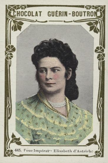 Feue Imperatrice Elisabeth D'Autriche--Giclee Print