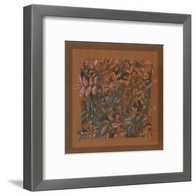 Feuillage D'automne-A^C^ Jacquin-Framed Art Print