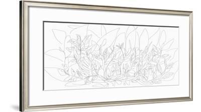 Feuilles, 2015-Nicolas Le Beuan Benic-Framed Giclee Print