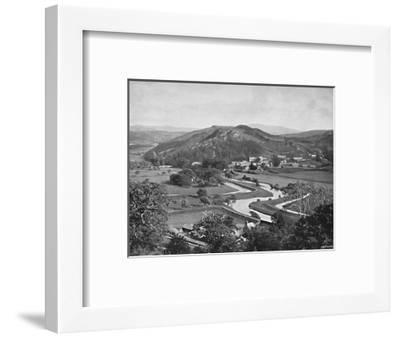 'Ffestiniog Valley', c1896-Carl Norman-Framed Photographic Print