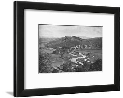 Ffestiniog Valley, c1900-Carl Norman-Framed Photographic Print