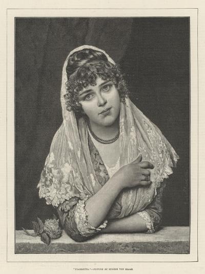 Fiammetta-Eugen Von Blaas-Giclee Print