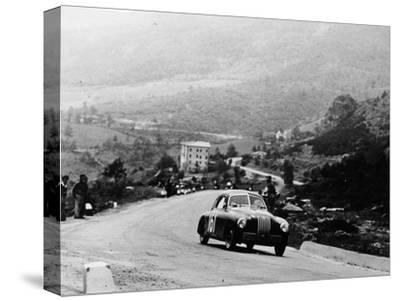 Fiat 1100S Berlinetta Competing in the Mille Miglia, Italy, 1947