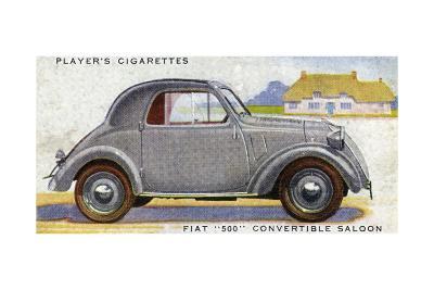 Fiat 500--Giclee Print