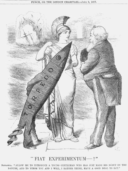 Fiat Experimentum-!, 1877-Joseph Swain-Giclee Print