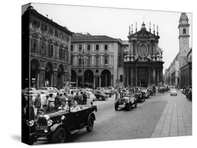 Fiats at a Rally, Turin, Italy, C1960