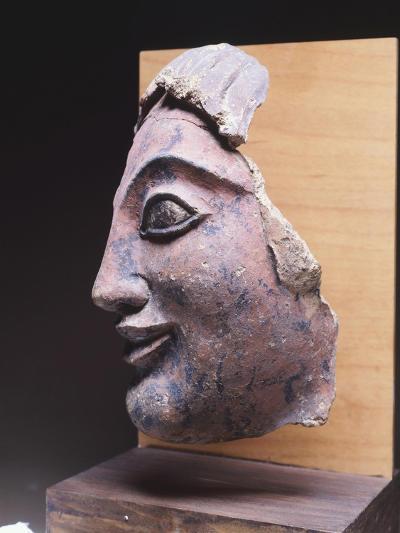 Fictile Head, 9th-1st Century BC--Giclee Print