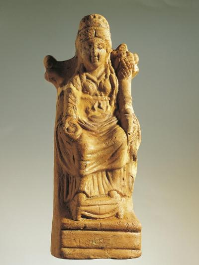 Fictile Statuette Representing the Goddess of Fertility--Giclee Print