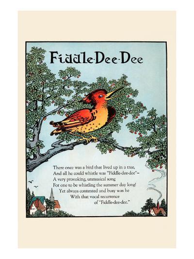 Fiddle Dee Dee-Eugene Field-Art Print