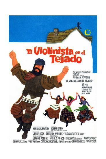 Fiddler on the Roof, 1971--Giclee Print