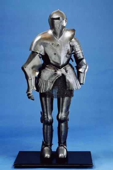 Field Armor Made in Third Quarter of 16th Century Italy, 16th Century--Giclee Print