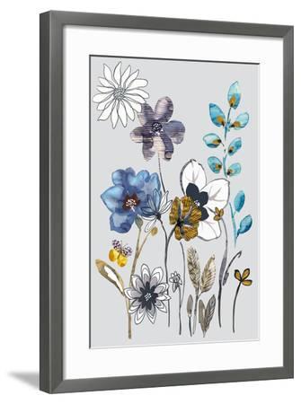 Field Flowers I-Sandra Jacobs-Framed Art Print