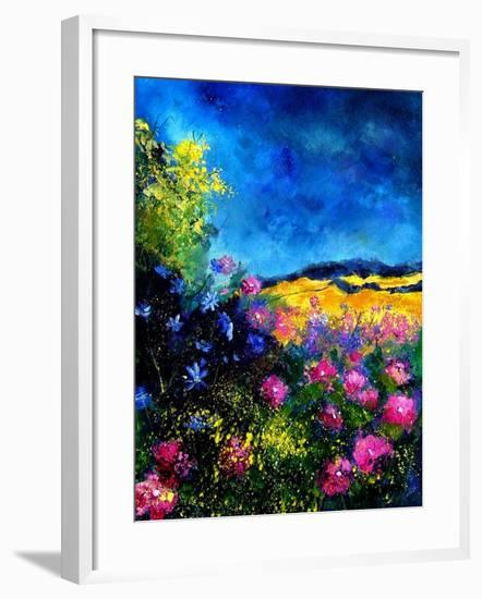 Field Flowers-Pol Ledent-Framed Art Print