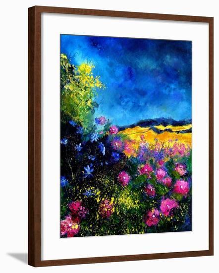 Field Flowers-Pol Ledent-Framed Art Print