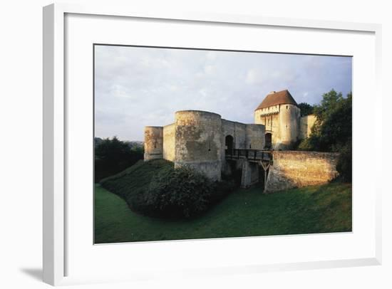 Field Gate (Porte Des Champs) and Barbacan--Framed Photographic Print