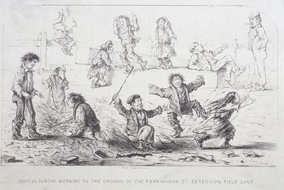 Field Lane Ragged School, London, 1853-William Dickes-Giclee Print