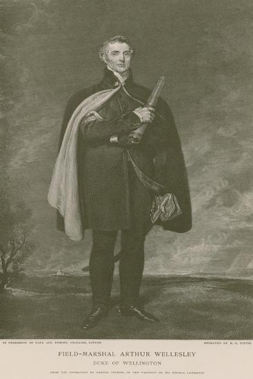Field-Marshal Arthur Wellesley-Thomas Lawrence-Giclee Print